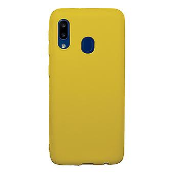 Ultra-Slim Case compatible with Samsung Galaxy A10e | In Yellow |