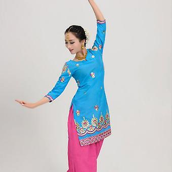 Baumwolle Indien Mantel Punjabi traditionelle Frau