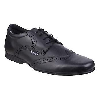 Lambretta Boys Tomkin Leather Brogue Shoe