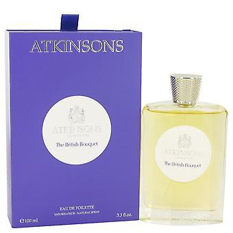 The British Bouquet Eau De Toilette Spray By Atkinsons 3.3 oz Eau De Toilette Spray