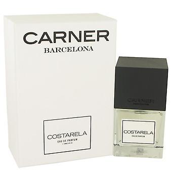 Costarela Eau De Parfum Spray By Carner Barcelona 3.4 oz Eau De Parfum Spray
