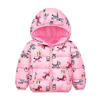 Baby Kids Jackets, Autumn, Winter, And, Warm Thick Hooded Coat, Outerwear,