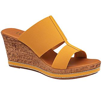 Lotus Rivera Womens Wedge Sandals