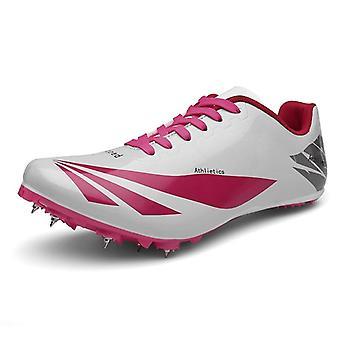 Vrouwen / mannen Track Field Spikes Atleet Running Training Racing Shoes