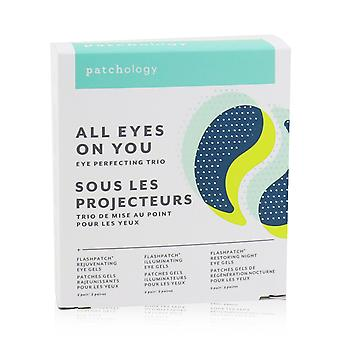 Flash patch eye gels all eyes on you eye perfecting trio kit: rejuvenating, illuminating, restoring 249147 6pairs