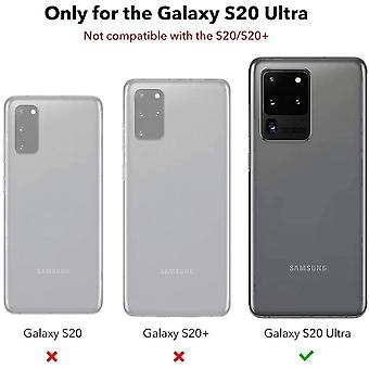 Wokex Kameraschutzfolie (2 Stck) kompatibel mit Galaxy S20 Ultra [Kratzresistent]