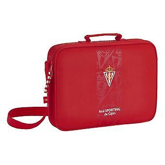 Briefcase Real Sporting de Gijón Red (6 L)