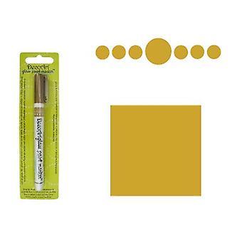 Decoart Guldglas markör 1mm