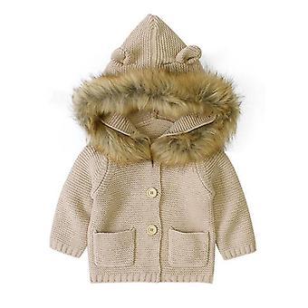 Boys Coat, Autumn Sleeve Hooded Jacket