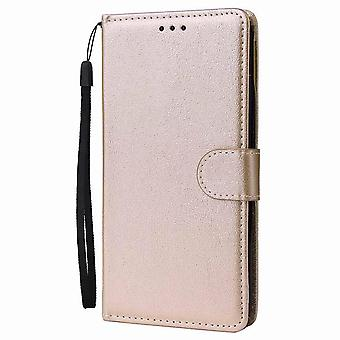 Simple Leather case for Honor 10i/ 20i/ 20 Lite - Golden