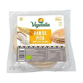 Organic White Pita 4 units
