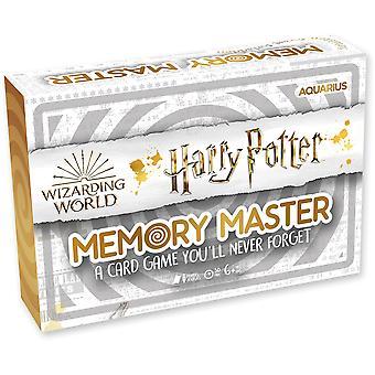 Juego de cartas maestro de memoria - edición de Harry Potter