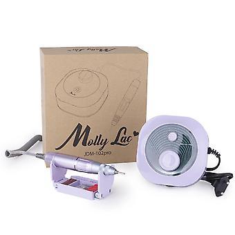 Elektrisk nagelfil - JMD102 Pro - 35000 RPM - Lila
