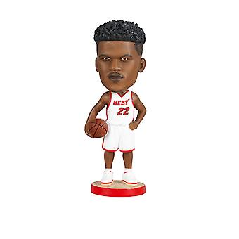 Miami Heat Jimmy Butler Bobblehead Action Figure Statue Basketball Doll