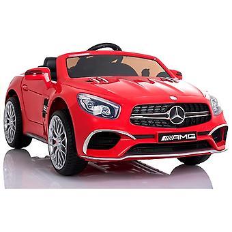 Mercedes SL65 rouge - Voiture pour enfants à guidage électrique