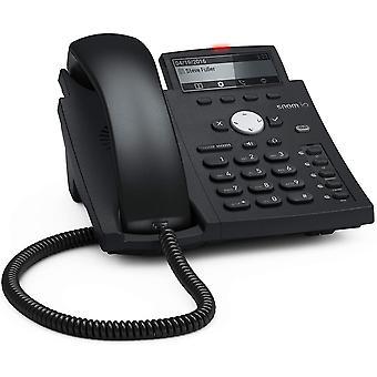 Wokex D315 IP Telefon, SIP Tischtelefon (5 konfigurierbare Funktionstasten mit LEDs, 4