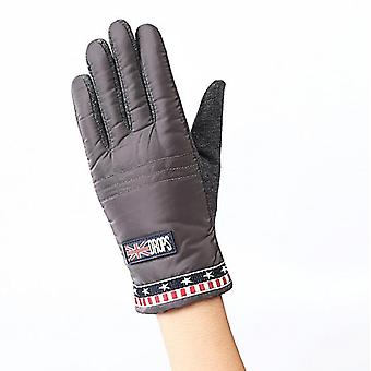 Children's Winter Thick Cashmere Warm Cycling Snow Sport Windproof Gloves