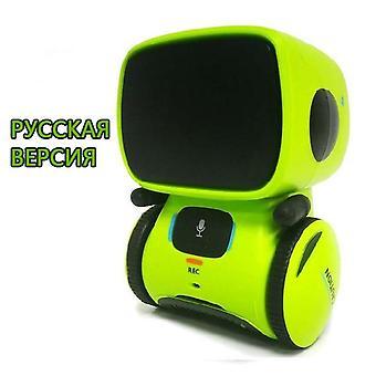 Robot giocattolo Intelligente & Touch controllo Giocattoli Interactive Educational RC Robot| Robot RC (verde)