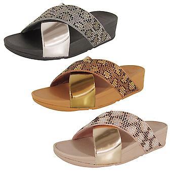 Scarpe fitflop donna Lulu Leopard Crystal Sandal