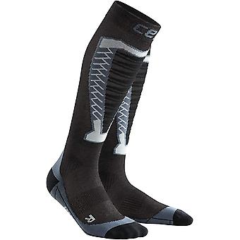 CEP Obstacle Men's Compression Running Socks, Anthracite