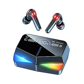 Gaming Headset Low Delay Dazzle Colour Breathe Light Esports Tws Bluetooth Headset Stereo Headset