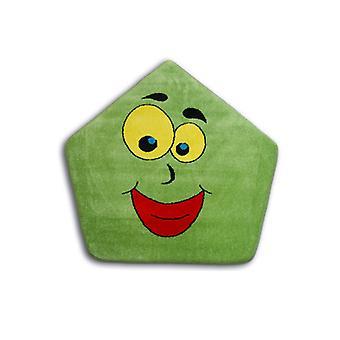 Rug PAINT pentagon - 1553 green