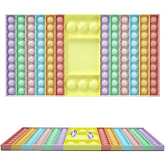 Непоседа игрушка Установить Стресс Игрушки Kit Fidget Интерактивная sieve настойная игра с кубиками подарок