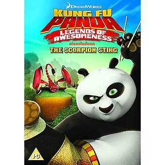 Kung Fu Panda: The Scorpion Sting DVD