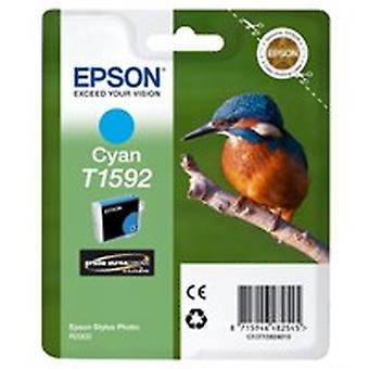 Epson C13T15924010 (T1592) Ink cartridge cyan, 17ml