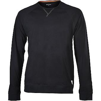 Paul Smith Jersey camiseta de manga larga, negro