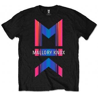 Mallory Knox Asymmetry Mens Blk T Shirt: Medium
