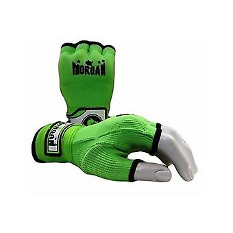Morgan elastisk lätt hand lindar gröna Xs