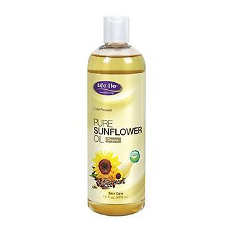 Life-Flo Pure Sunflower Oil, 16 oz