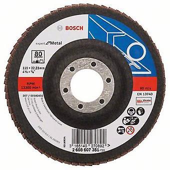 Bosch Tarvikkeet 2608607351 Osastot hiomapyörä Halkaisija 115 mm Sisähalkaisija 22,23 mm Vilja 80 1 kpl