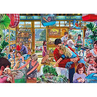 Gibsons Furry Friends Puzzle (1000 Teile)