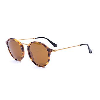 Ray-Ban Round Fleck Sunglasses - Tortoise