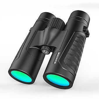 12x42 HD High Power Binoculars Multi-layer Coating Portable Telescope Outdoor Hiking Camping
