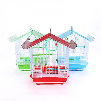 Parrot Cage Metal Wire Cage House Type Bird Cage Bird Nest