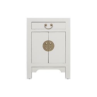 Fine Asianliving Chiński stolik nocny Moonshine Greige - Orientique Collection W42xD35xH60cm
