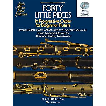 Forty Little Pieces (40) Flute, CD Only, Schirmer
