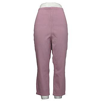 Belle av Kim Gravel Women's Plus Bukser Flexibelle Hollywood Pink A373936