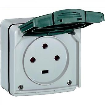 Power Socket Ik08 3p + T 20a Watertight Ip55