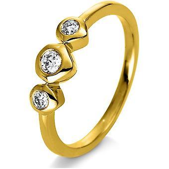 Luna Creation Promessa Кольцо Несколько камней Набор 1Q247G454-3 - Ширина кольца: 54