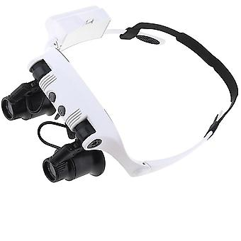 Professional Magnifying Glasses Magnifier Glasses With Led Light Headband Magnifier