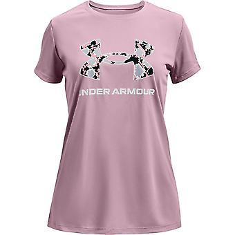 Under Armour Girls Tech Big Logo Kortærmet T-shirt