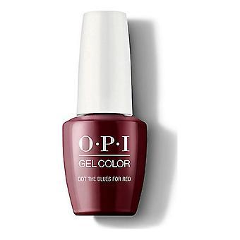 nagellack fick blues för röd opi röd (15 ml)