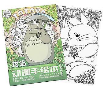Koulutus anime naapurini totoro värityskirja