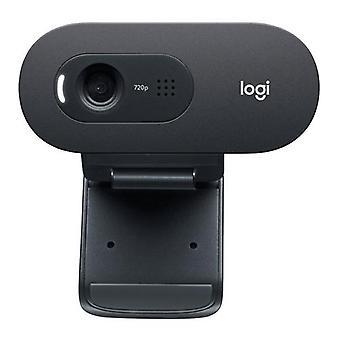Logitech C505e, 1280 x 720 pixelů, 30 fps, 1280x720@30fps, 720p, 60°, USB