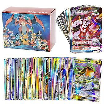 200pcs Gx French Vmax V Ex Cards Game Battle Carte Trading Card Children Toy