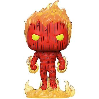 Video game consoles 44987 pop marvel: fantastic four - human torch collectible toy  multicolour